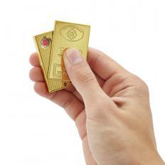 """USB-Glühspiralen-Feuerzeug """"Gold""""-2"""
