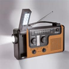 """Multifunktions-Radio """"Vintage Gold""""-2"""