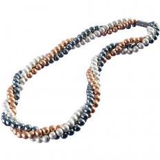Magnet-Halskette 3-reihig-2