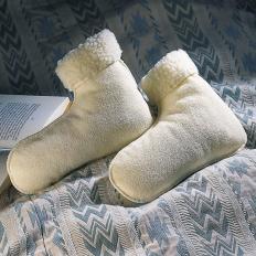 Bettschuhe aus Schafswolle-2