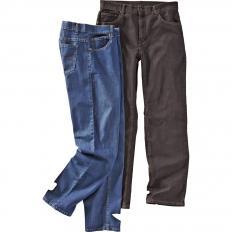 Herren-Stretch-Jeans Beide-2