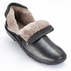 Schafswoll-Reißverschluss-Schuh-2
