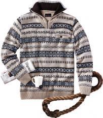 Pullover im Norweger-Stil-2