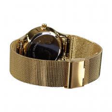 "Flache Solar-Armbanduhr ""Gold""-2"