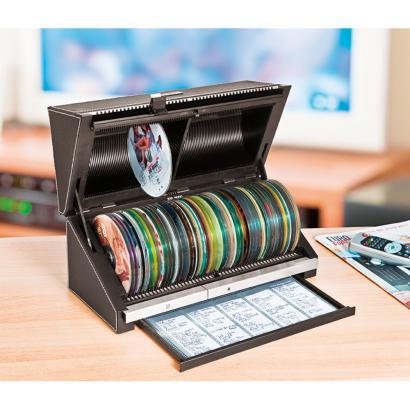 automatische cd dvd archivbox g nstig kaufen im online shop. Black Bedroom Furniture Sets. Home Design Ideas