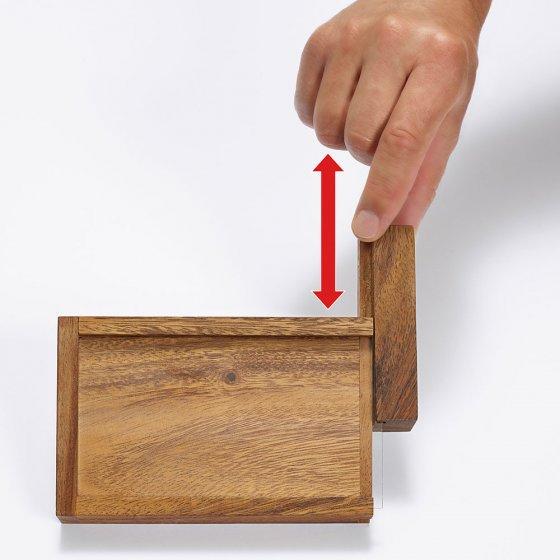 Rätsel-Fenster-Geschenkbox