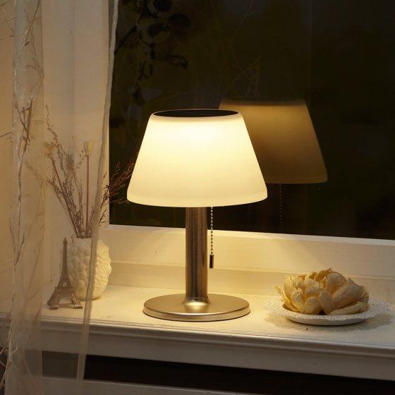 Solar LED-Tischleuchte