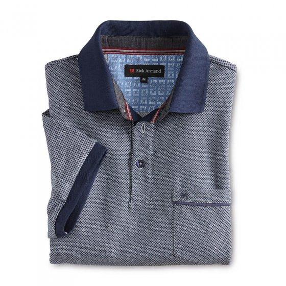 Struktur-Poloshirt