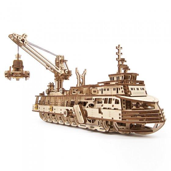 Holzmodell Forschungsschiff