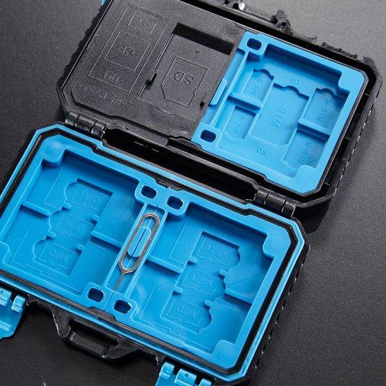 Kartenschutzkoffer mit USB-Lesegerät