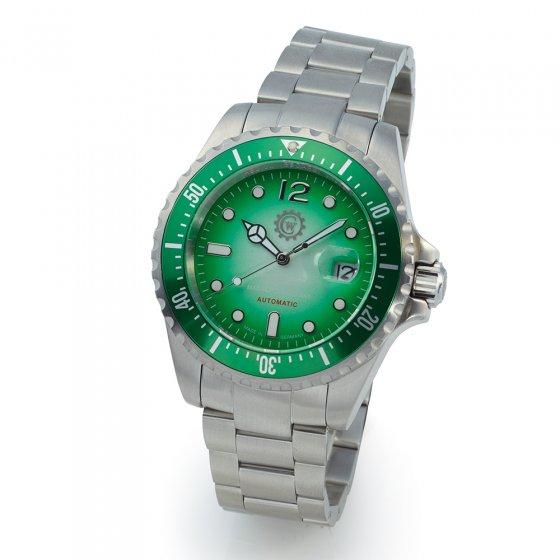 """Taucheruhr """"Green Diver"""""""