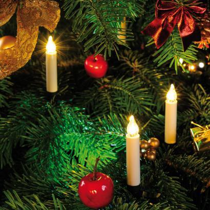 kabellose led mini weihnachtskerzen g nstig kaufen im online shop. Black Bedroom Furniture Sets. Home Design Ideas