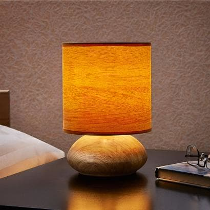touch leuchte im holz dekor g nstig kaufen im online shop. Black Bedroom Furniture Sets. Home Design Ideas