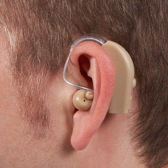 Aufladbare Hörhilfe 2er-Set