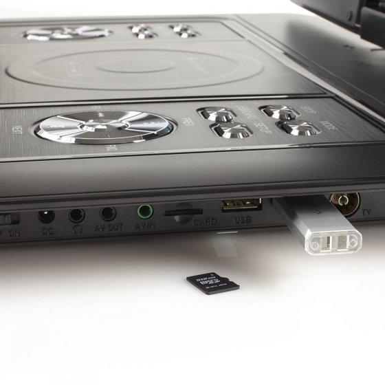 Extragroßer DVD- und DVB-T2-Spieler