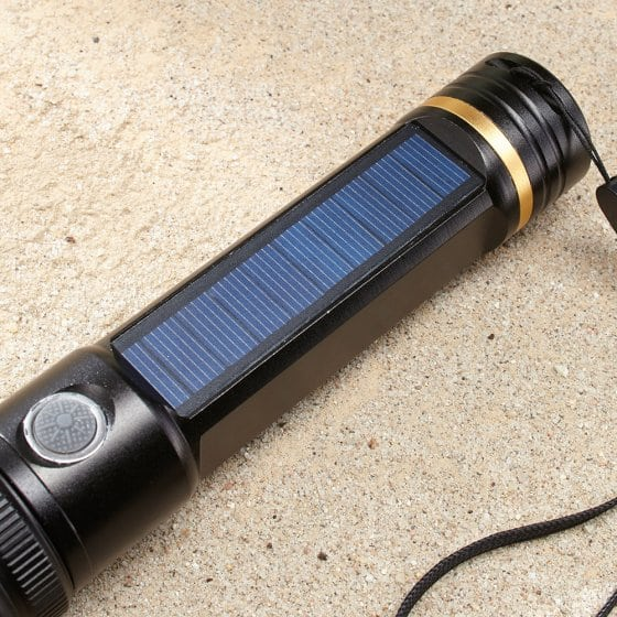 Solar-USB-Taschenlampe