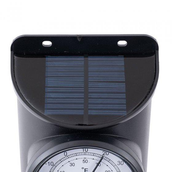 Außenthermometer mit Solar-Beleuchtung