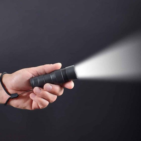 """Taschenlampe  """"Pro Alarm"""""""