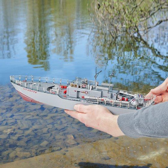 Funkgesteuertes Torpedoboot
