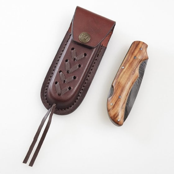 "Damast-Taschenmesser ""Damasuku"""