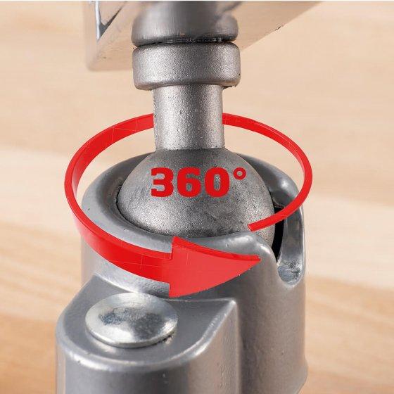 Winkelverstellbarer Schraubstock