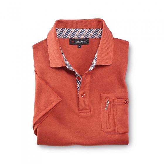 Interlock-Shirt mit Kontrasten