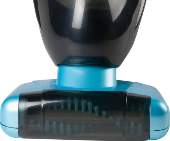 Akku-Sauger mit motorbetriebener Bürste