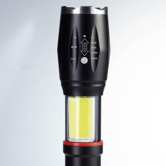 Aufladbare Power-Taschenlampe