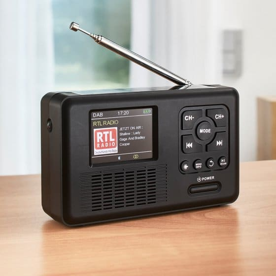DAB+-Multifunktionsradio mit Farbdisplay