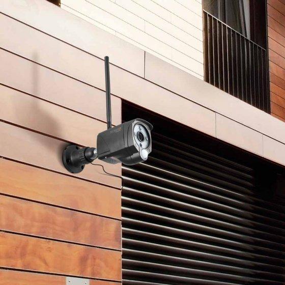 Außen-Sicherheitskamera mit Monitor