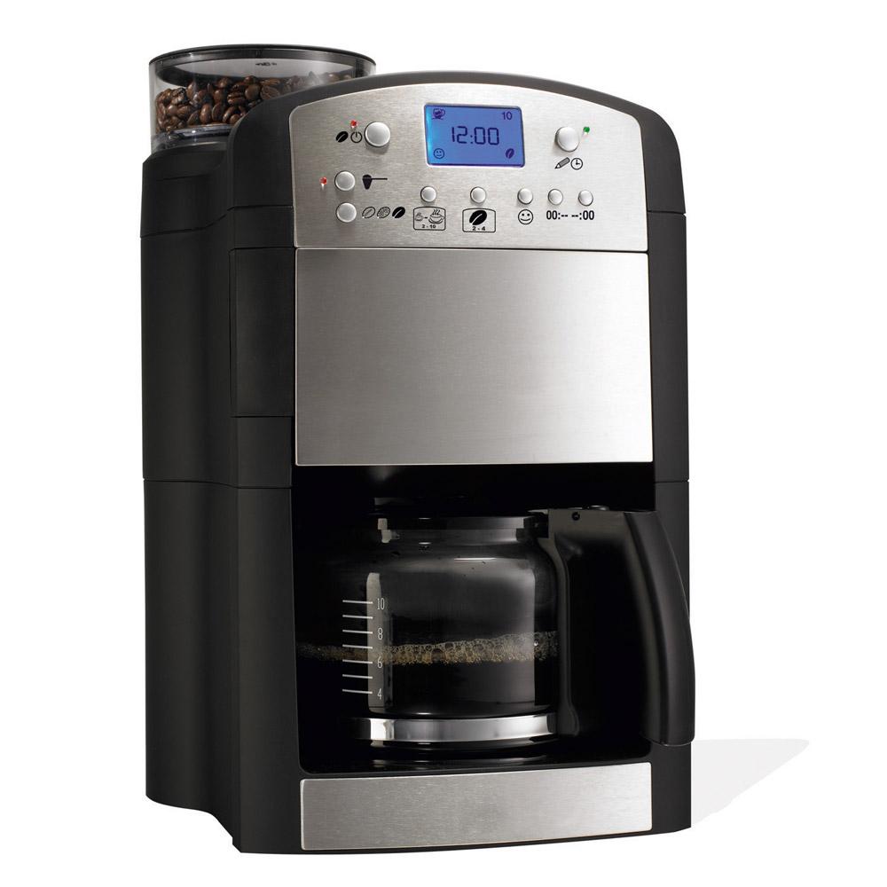 Kaffeemaschine mit Mahlwerk günstig bei EUROtops bestellen ~ Kaffeemaschine Mit Mahlwerk