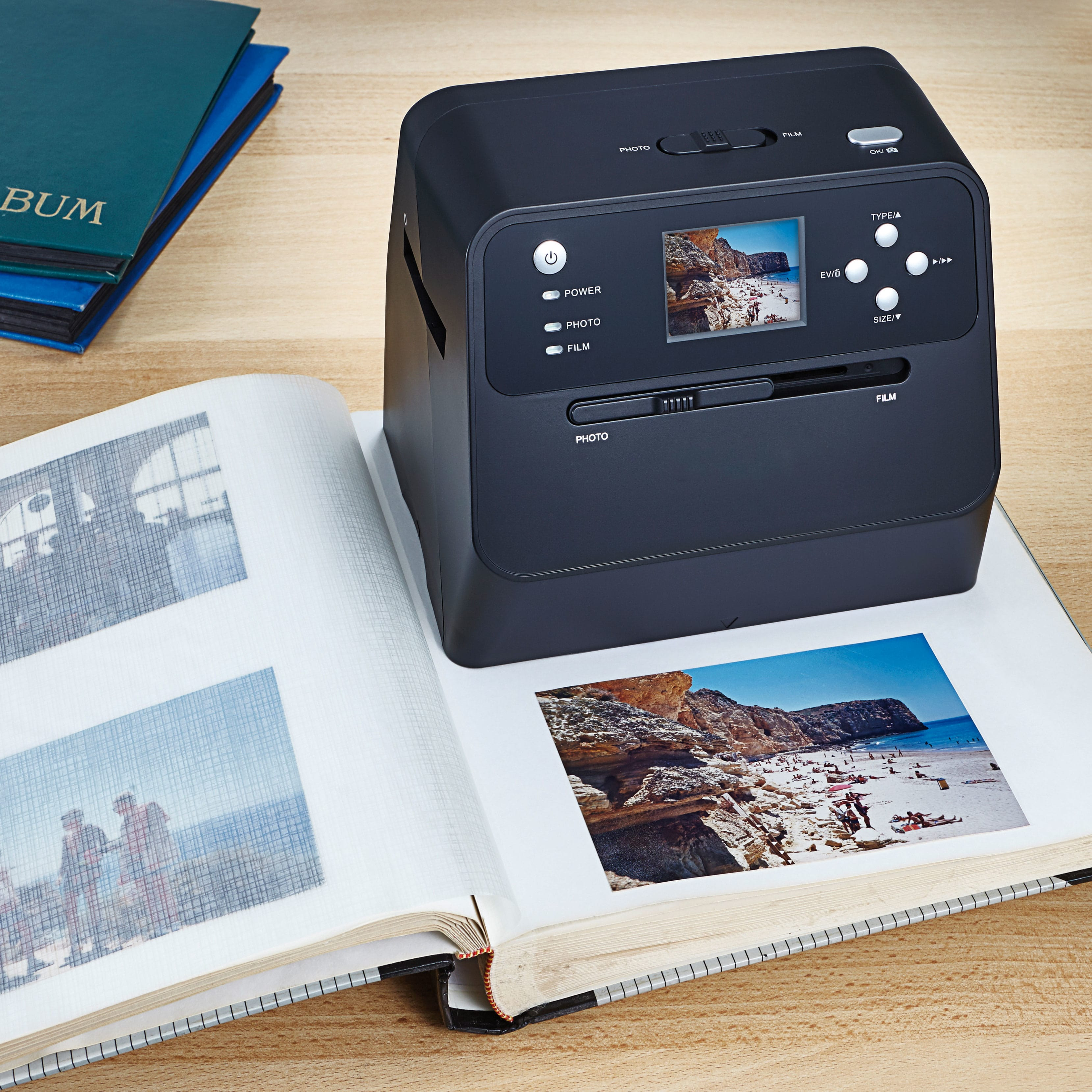 fotoalbum scanner g nstig bei eurotops bestellen. Black Bedroom Furniture Sets. Home Design Ideas