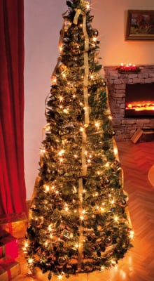 weihnachtsbaum geschm ckt g nstig bei eurotops bestellen. Black Bedroom Furniture Sets. Home Design Ideas