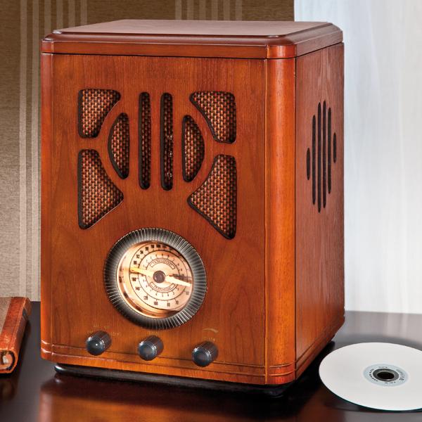 stereo nostalgieradio mit cd spieler stereo. Black Bedroom Furniture Sets. Home Design Ideas