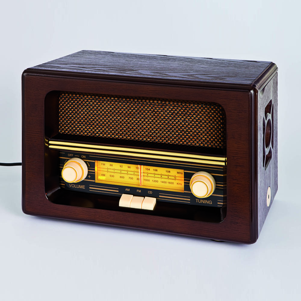 nostalgie radio mit cd spieler g nstig bei eurotops bestellen. Black Bedroom Furniture Sets. Home Design Ideas