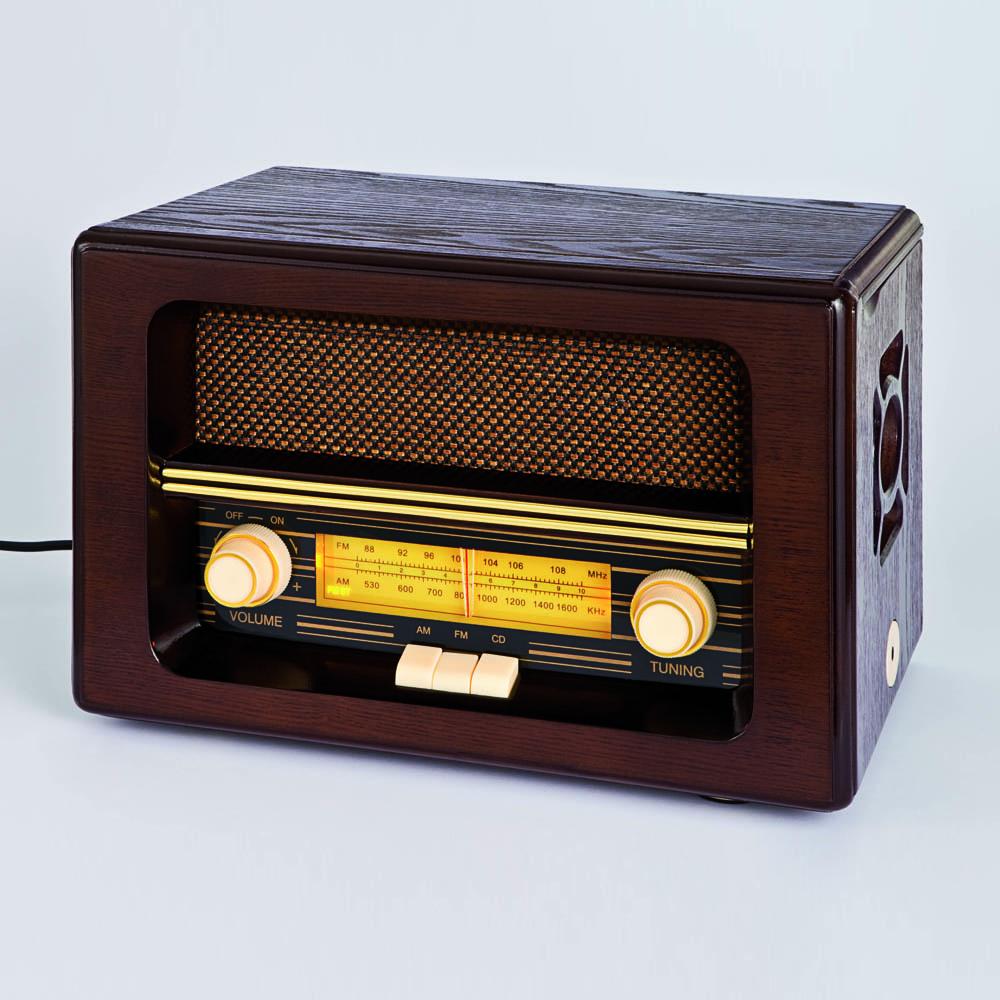 Nostalgie radio mit cd spieler gunstig bei eurotops bestellen for Unterschrank radio mit cd