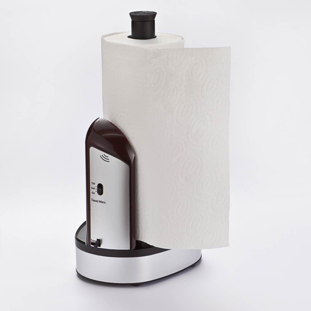 automatischer k chenrollenspender g nstig bei eurotops bestellen. Black Bedroom Furniture Sets. Home Design Ideas