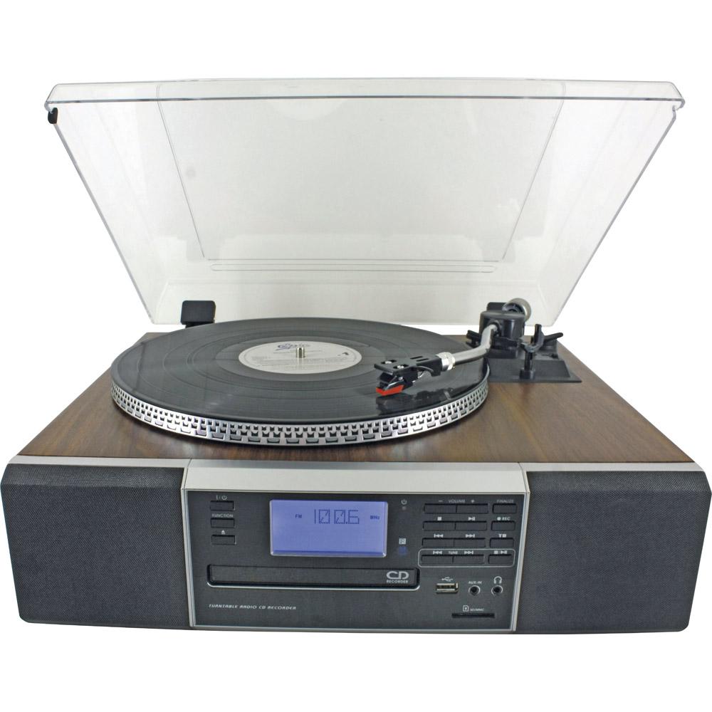 Retro Küchenradio Mit Cd ~ retro musikcenter mit cd brenner günstig bei eurotops bestellen