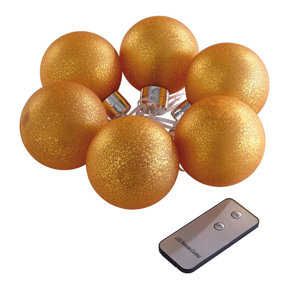 led weihnachtskugeln mit fernbedienung 6er set g nstig bei. Black Bedroom Furniture Sets. Home Design Ideas