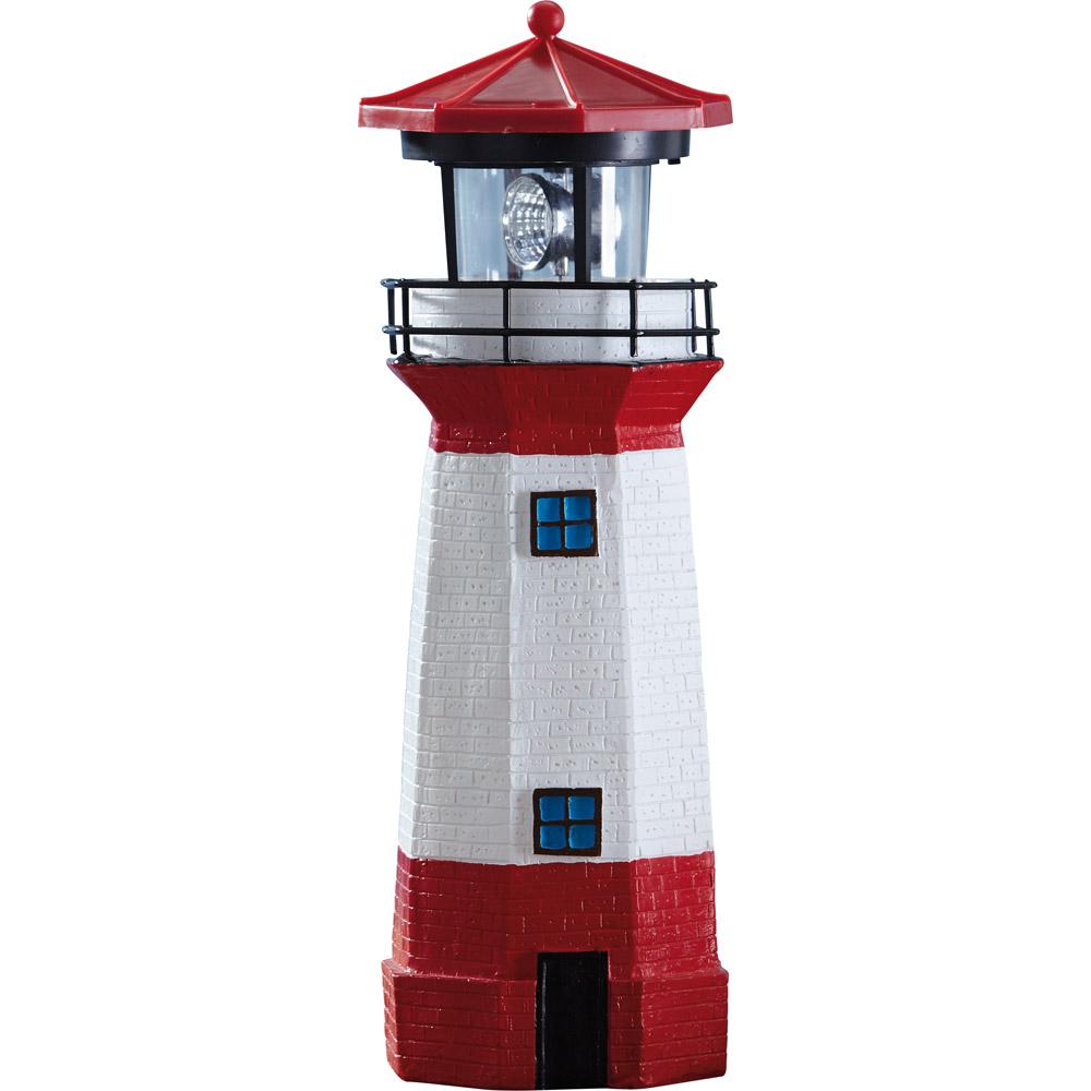 solar leuchtturm mit leuchtfeuer solar leuchtturm mit. Black Bedroom Furniture Sets. Home Design Ideas