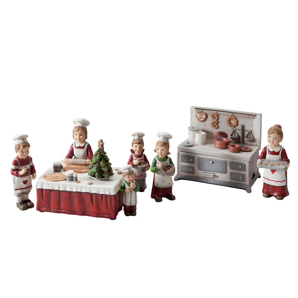weihnachts backstube 8 teilig weihnachts backstube 8. Black Bedroom Furniture Sets. Home Design Ideas