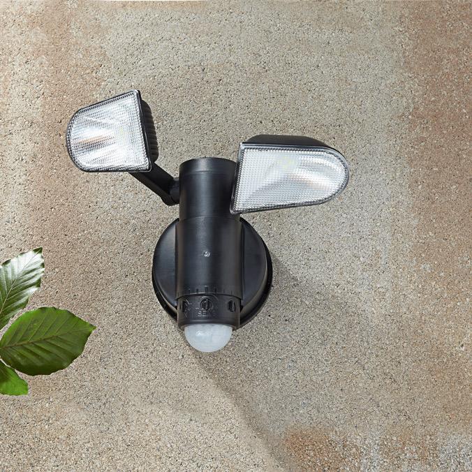 ultraheller led strahler mit bewegungsmelder g nstig bei eurotops bestellen. Black Bedroom Furniture Sets. Home Design Ideas