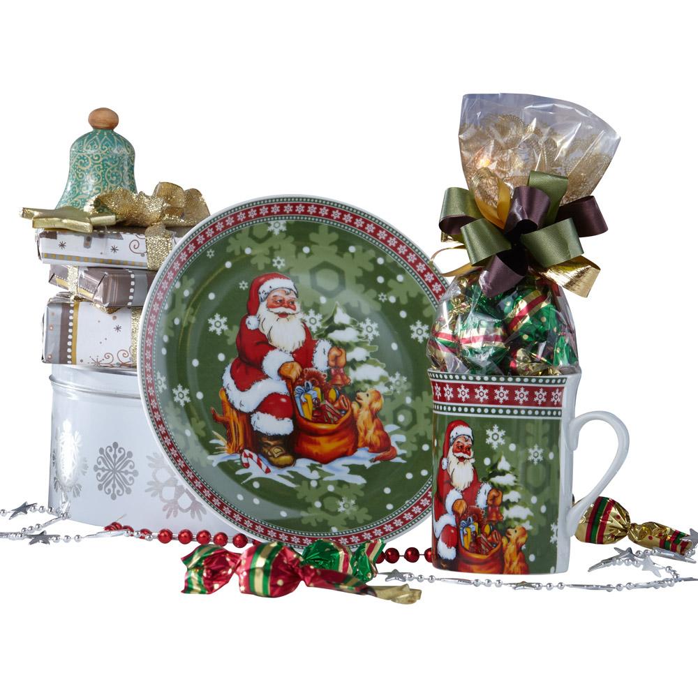 pr sent weihnachts kaffee set g nstig bei eurotops bestellen. Black Bedroom Furniture Sets. Home Design Ideas