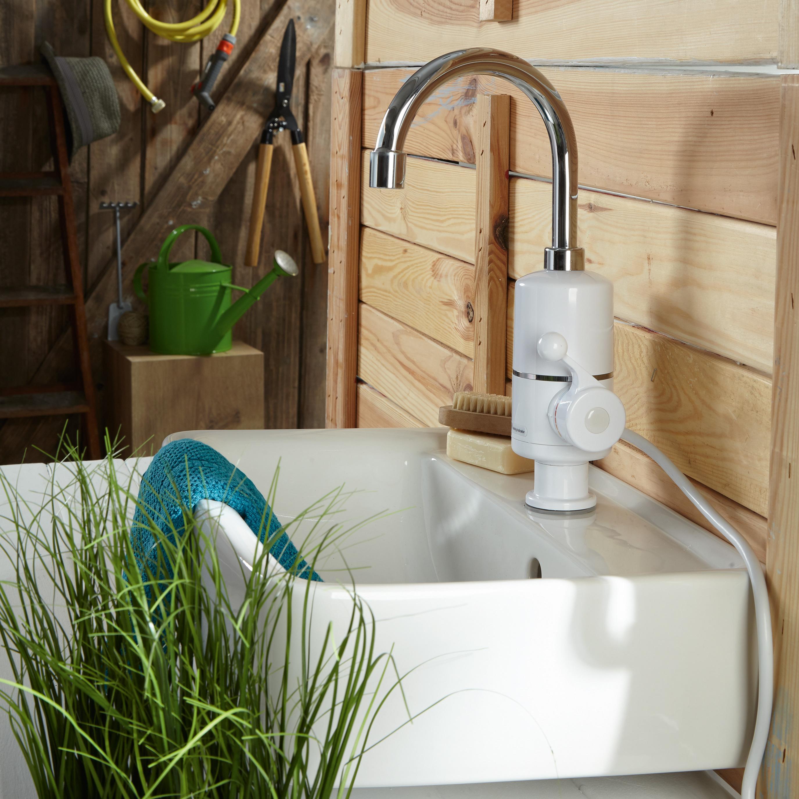 Wasserhahn für durchlauferhitzer