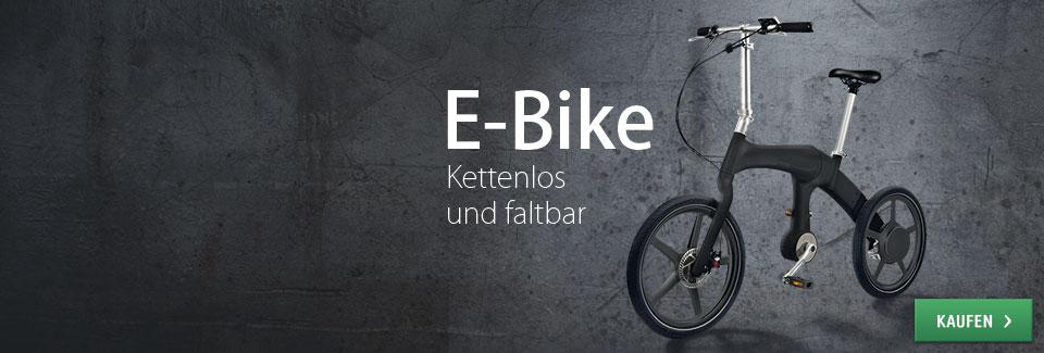 Kettenloses Falt-E-Bike